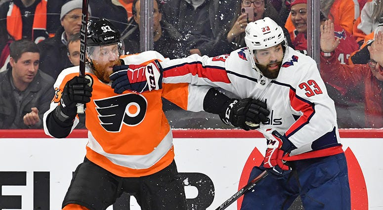 Radko Gudas embraces bad guy role with Capitals