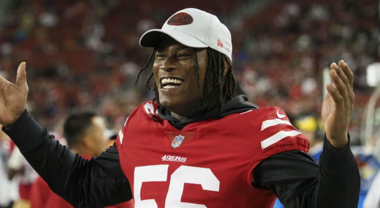 Reuben Foster will be fined, not suspended by NFL
