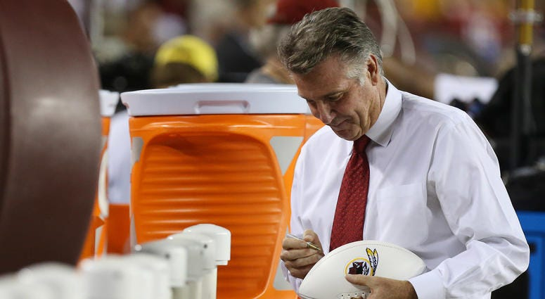 Bruce Allen overestimates Redskins' worth