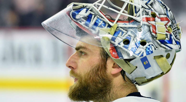 Washington Capitals goaltender Braden Holtby says he won't go to the White House.
