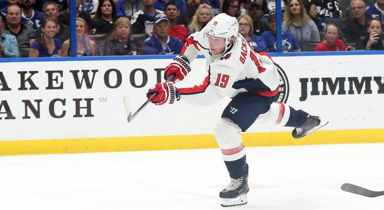 Nicklas Backstrom scored twice for Capitals in the Stanley Cup Playoffs.