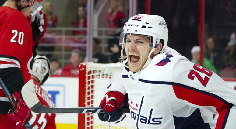 Washington Capitals clinched a Stanley Cup playoff berth.