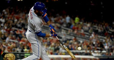 Mets' Rosario overheard clearing his throat on Nats radio broadcast