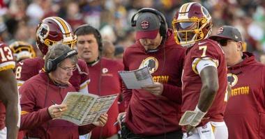 Redskins lose game on coaching sideline