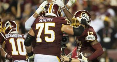 Redskins Inactives vs. Giants: McLaurin, Scherff, Roullier