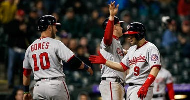 Nationals trying to 'tread water' until big bats return to lineup