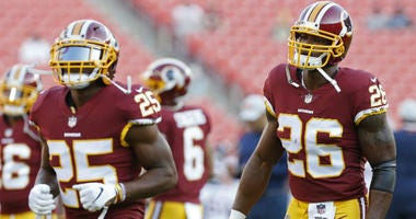 Chris Thompson disappointed by Adrian Peterson decision