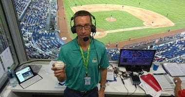 Nats announcer becomes a part of foul ball history at Marlins Park