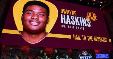 Redskins officially sign rookie QB Dwayne Haskins