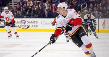 Garnet Hathaway on the Calgary Flames