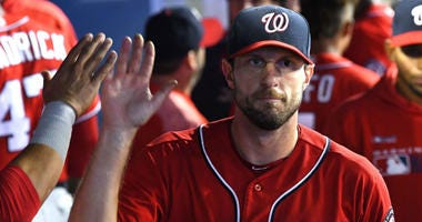 Nationals Max Scherzer says back injury isn't a long-term one.