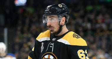 The Bruins lost the Stanley Cup and Brad Marchand nearly cried.