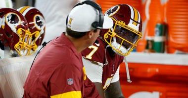 Redskins give rookie QB Dwayne Haskins a long look in preseason debut.