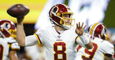 Redskins have no choice but to start Case Keenum