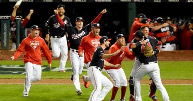 Best videos from Nationals winning the National League