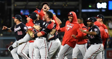 Fans react to the Nationals NLDS Game 5 win