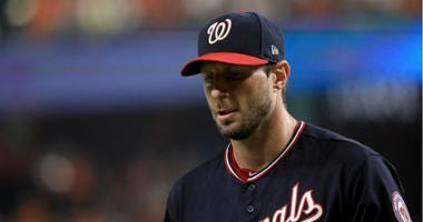Max Scherzer likely done for World Series