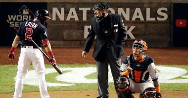 Nationals angry, but not blaming World Series umpires