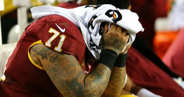 Reports say the Washington Redskins say they won't trade Trent Williams.