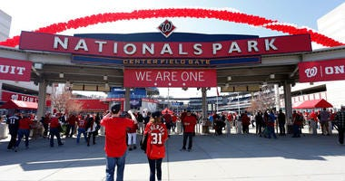 Nationals no longer allowing backpacks at Nats Park