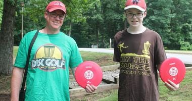 106.7 The Fan Presents: Chad Dukes Disc Golf Classic atPohick Bay Regional Park in Lorton, VA.