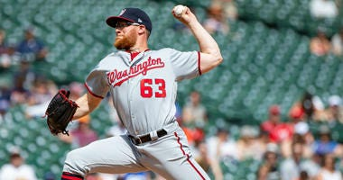 Nationals Closer Sean Doolittle