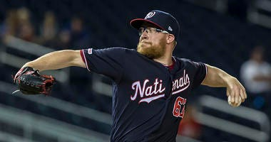 Sean Doolittle reflects on 'whirlwind' 2017 trade to Nationals