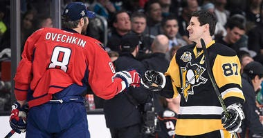 Sidney Crosby and Alex Ovechkin