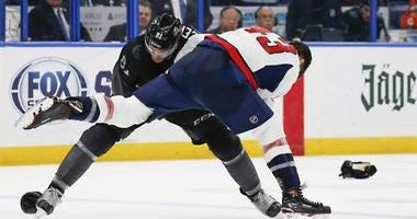 The Caps 'took a pound of flesh' and left their mark in Tampa