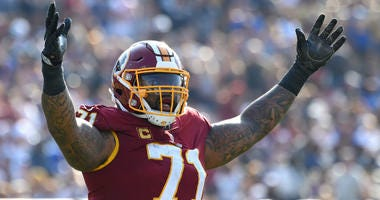 The Redskins must end standoff with tackle Trent Williams now.
