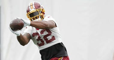 Jay Gruden says running back Samaje Perine isn't in his doghouse.