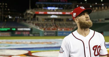 Bryce Harper is leaving the Washington Nationals after seven seasons.