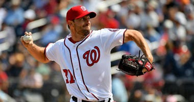MLB players voted Washington Nationals' Max Scherzer the most intimidating pitcher.