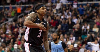 Beal hits another level as Wizards grasp to playoff hopes