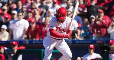 Philadelphia Phillies boo Bryce Harper in his debut.