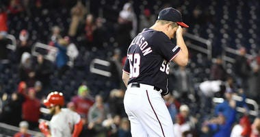The Washington Nationals bullpen has struggled mightily.