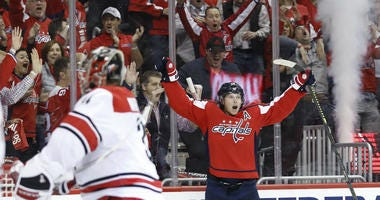 A win Saturday gives Washington Capitals a 2-0 lead.