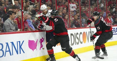 Washington Capitals were out-played, worked-over by Carolina Hurricanes.