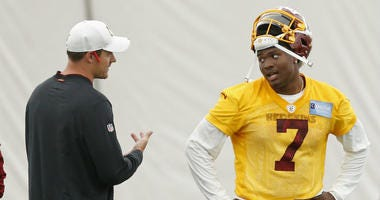Dwayne Haskins is twice the QB as RGIII, ESPN's Louis Riddick says.