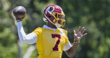 Joe Theismann says Dwayne Haskins starting Week 1 is a formula for disaster for Redskins.