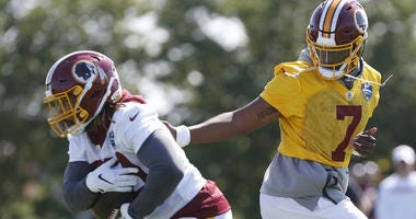 Adrian Peterson will headline Redskins rushing attack, but Derrius Guice will soon be the star.