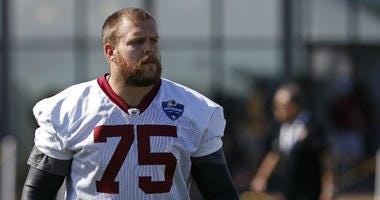 Brandon Scherff says he wants to stay with the Redskins.