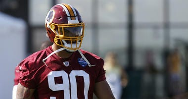 Redskins' Josh Norman says Montez Sweat has a ceiling like Julius Peppers.