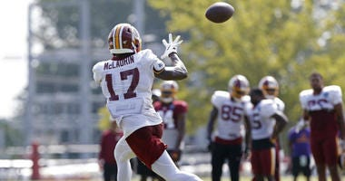Terry McLaurin on track to be Redskins best wide receiver?