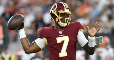 Clinton Portis says the Redskins should sit Dwayne Haskins this year.