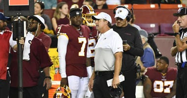 Report: Jay Gruden 'did not want' Dwayne Haskins
