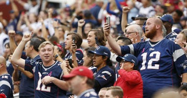 Patriots surprised by fans taking over FedEx Field