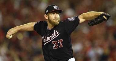 Stephen Strasburg continues Nationals pitching domination