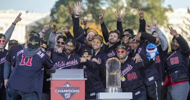 Best videos from the Nationals' World Series parade