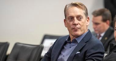 Washing Redskins defensive coordinator Jack Del Rio looks on during the introductory press conference for head coach Ron Rivera.
